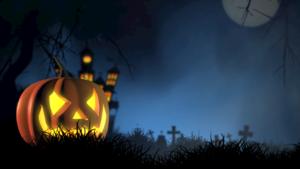 Jock - o - lantern on Halloween